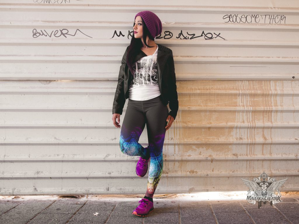 girl-with-purple-shoes-wearing-leggings-mockup-while