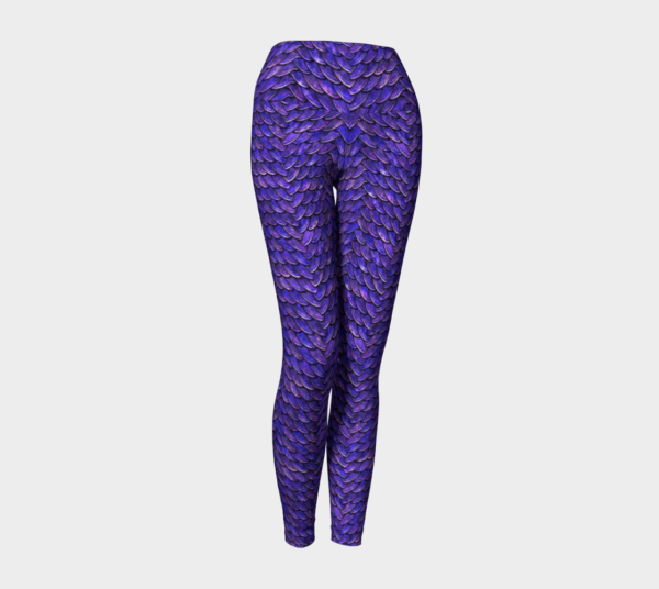 purple dragon scales leggings